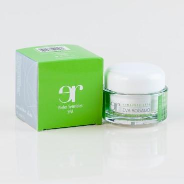 Crema Hidratante, Relajante y Antiestrés para Piel Sensible SPF15